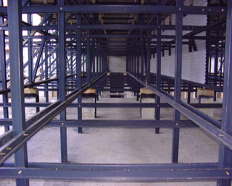 AFTER - Cooling Tower Lumber to FRP Structural Conversion