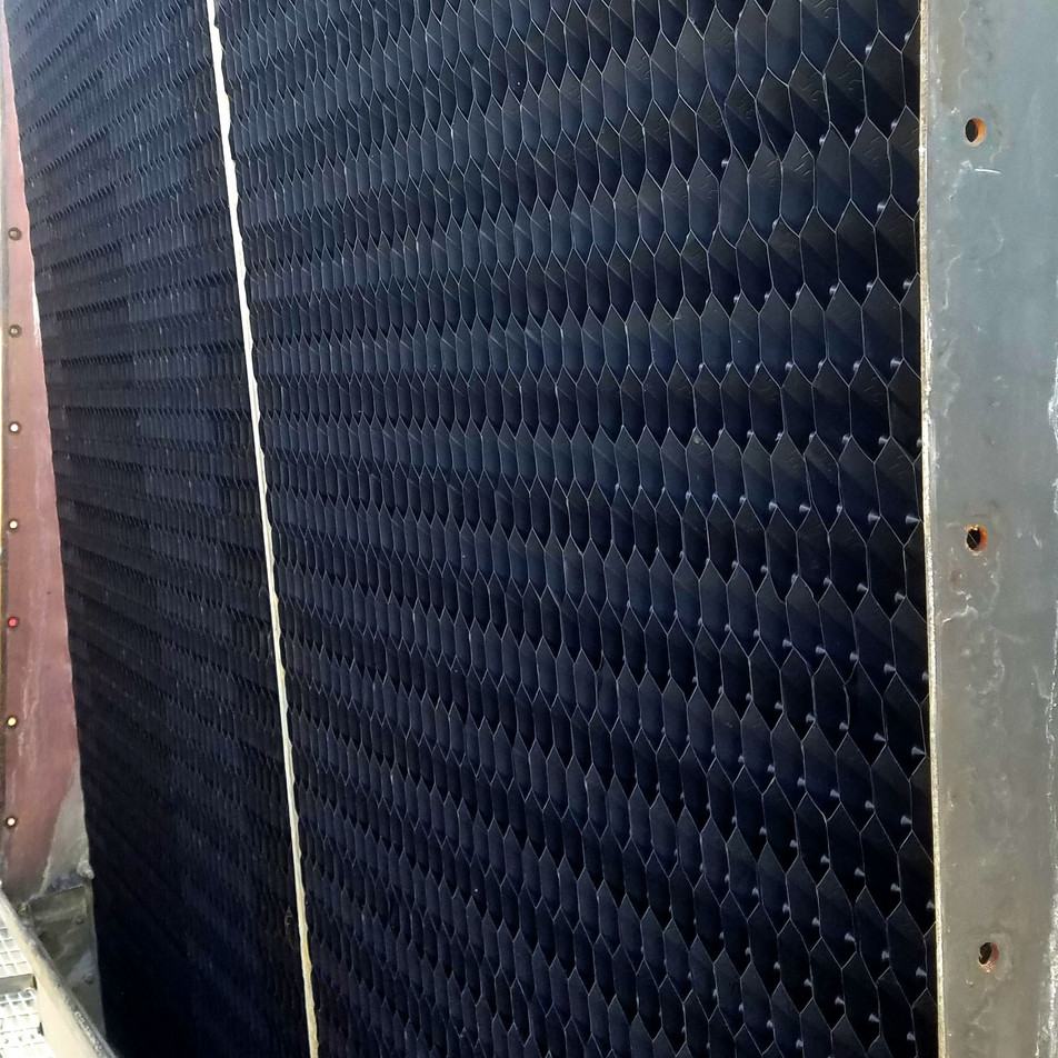 AFTER - Cooling Tower Fill Replacement