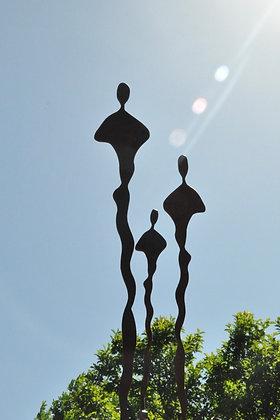 Figures - Set of 3 | Mild Steel