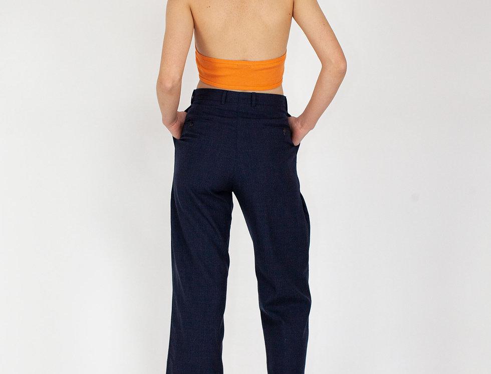 Pantalon trousers dark blue
