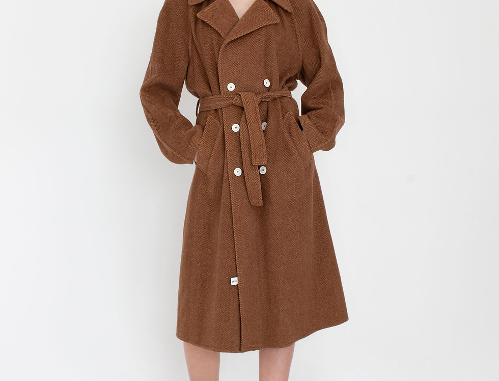 Trenchcoat brown