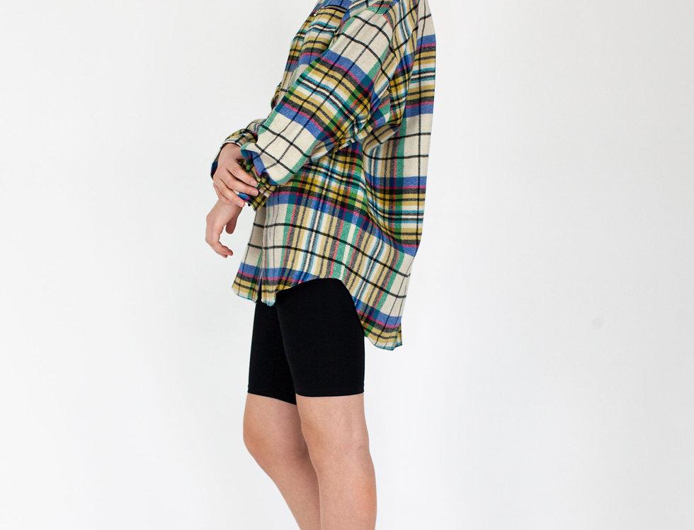Multi colored flannel
