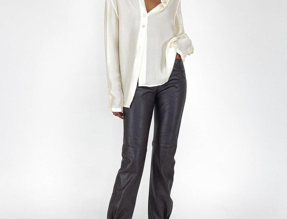 Silk textured blouse