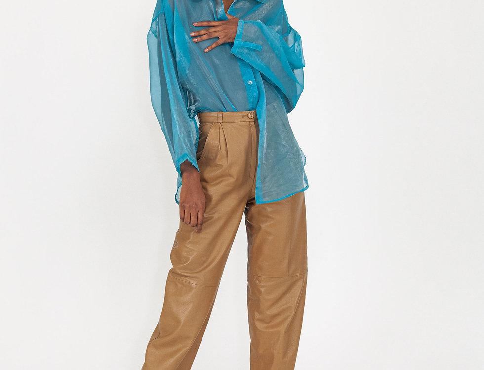 Transparant blue blouse