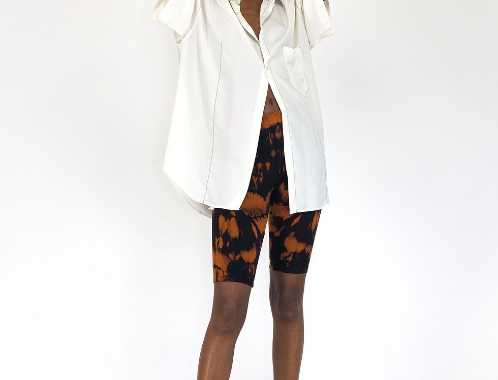 White top stitch blouse
