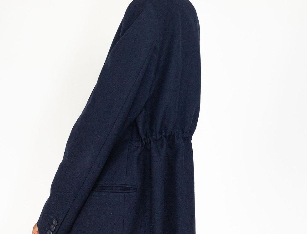 Dark blue tunnel jacket