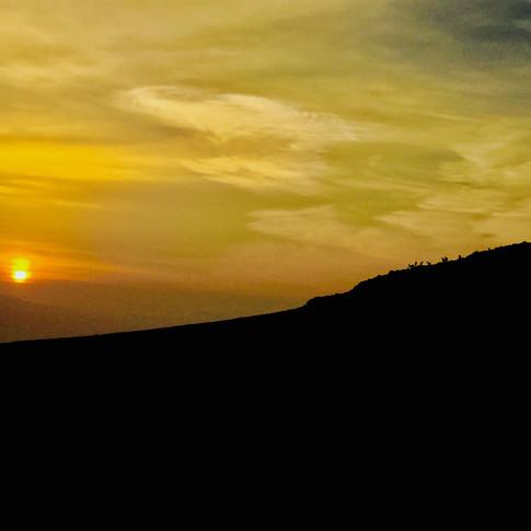 Morning sunrise in the Judean Desert