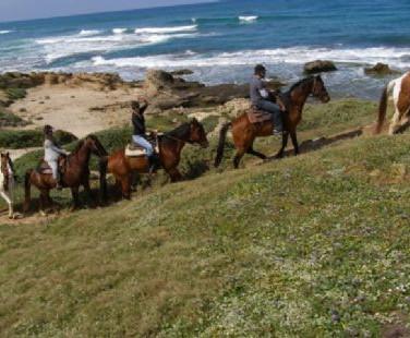 Riding along the Coastline