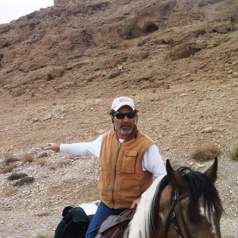Isaac Hanukah, Trip Leader and Professional Cowboy