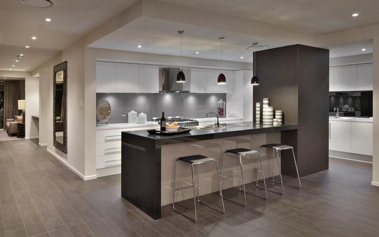 Kitchen - C white - U white - B black si