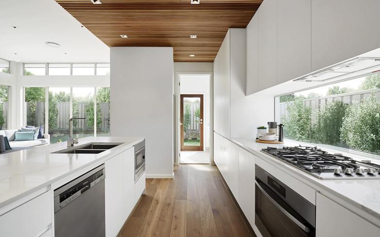 Kitchen - C white - B white - undermount