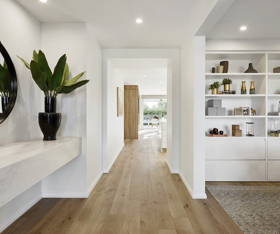 Cabinetry - C white drawers and open.jpg