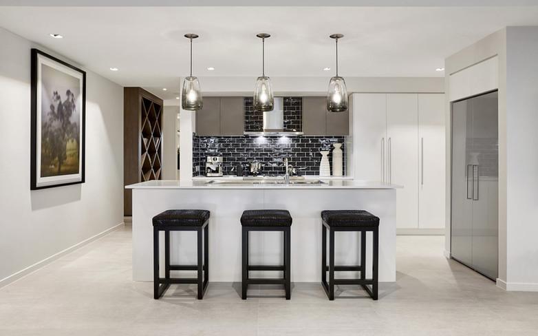 Kitchen - C grey white - B white - canop