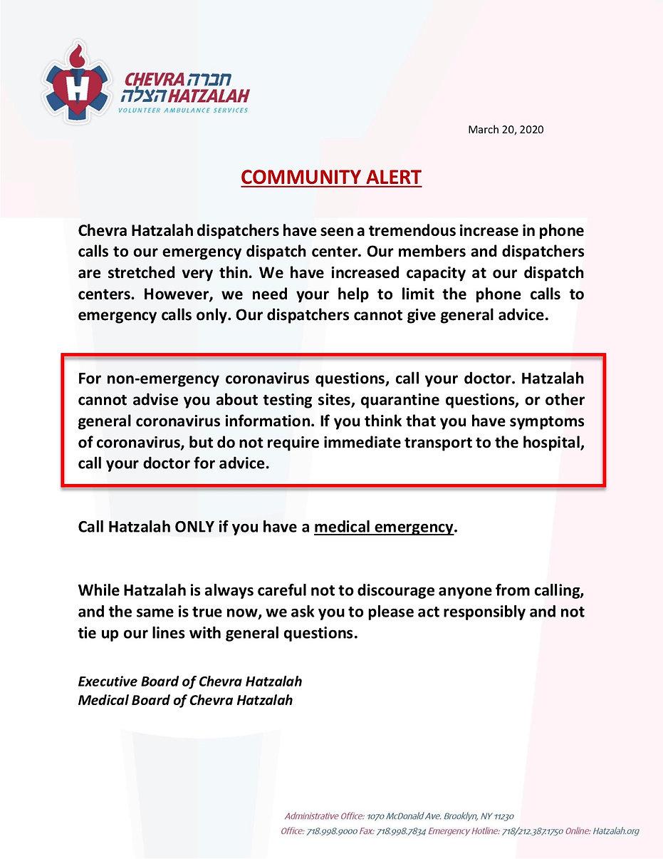 Chevra Hatzalah - COVID-19 Alert.pdf.pdf
