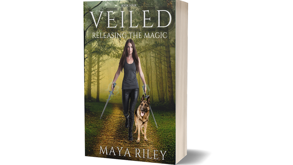 Veiled (Releasing the Magic book 4)