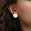 Thumbnail: Sterling Silver Hexagon Stud Earrings