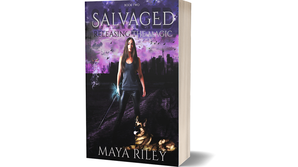 Salvaged (Releasing the Magic book 2)
