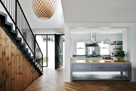 Sheffield kitchen and entrance