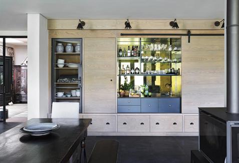 Parktown North Renovation kitchen/bar