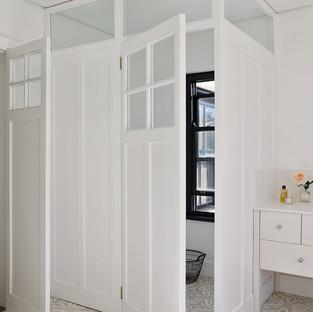 Toilet in main bathroom