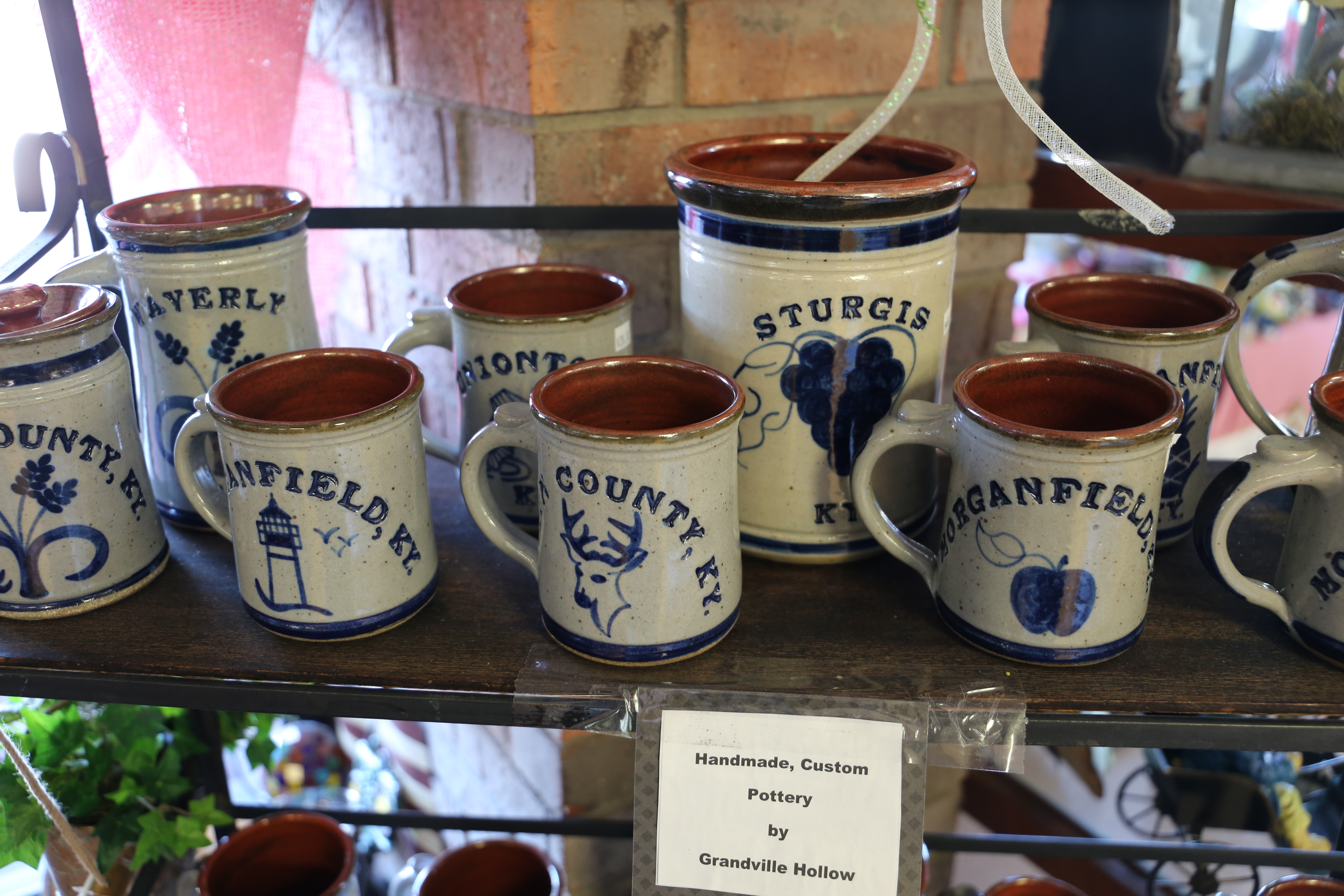 Custom City and County Stoneware
