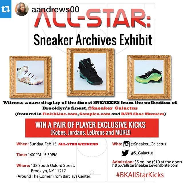 Instagram - Today's the day! The All Star Sneaker Archives Exhibit of @sneaker_g
