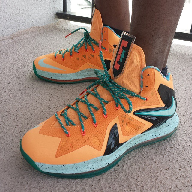 Instagram - Last one for Miami and we out! #wdywt Shooting Stars LeBron X #killi