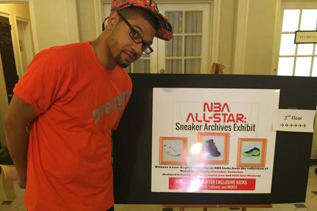 NBA All-Star Weekend: Brooklyn Sneakerhead Chad Jones' Special Collection (BleacherReport.com)