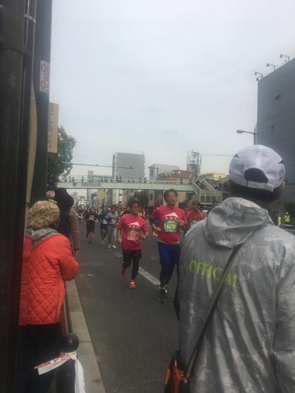 大阪マラソン 沿道整備