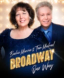 Broadway, Our Way postcard, 4.25x6 w ble