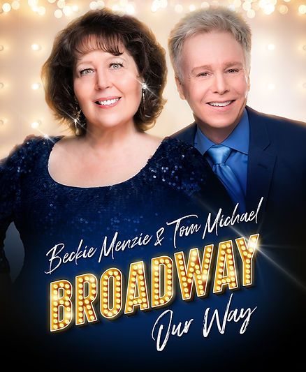 Broadway, Our Way postcard, 4.25x6 w ble