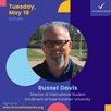 Russel Davis will make a presentation about getting scholarship in American Universities