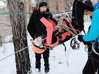 XXVII Республиканские соревнования учащихся по туризму на лыжных дистанциях