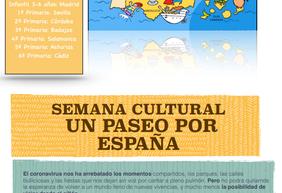 SEMANA CULTURAL UN PASEO POR ESPAÑA