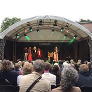 Doppelkonzert mit Becca Stevens, Wuppertal Skulpturenpark, Juli 2019