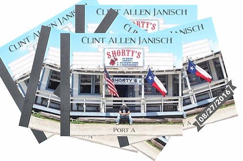 """Clint Allen Janisch """"Port A"""" CD"""