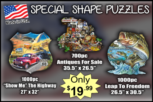 Special Shape Puzzles