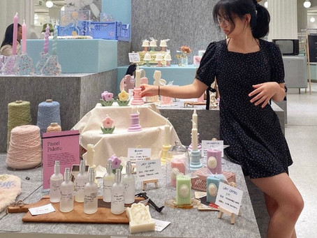 Interviewing Gaeun of Pastel Palette - Product Photography