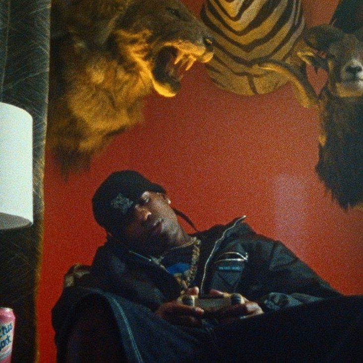 Travis Scott in the Out West music video