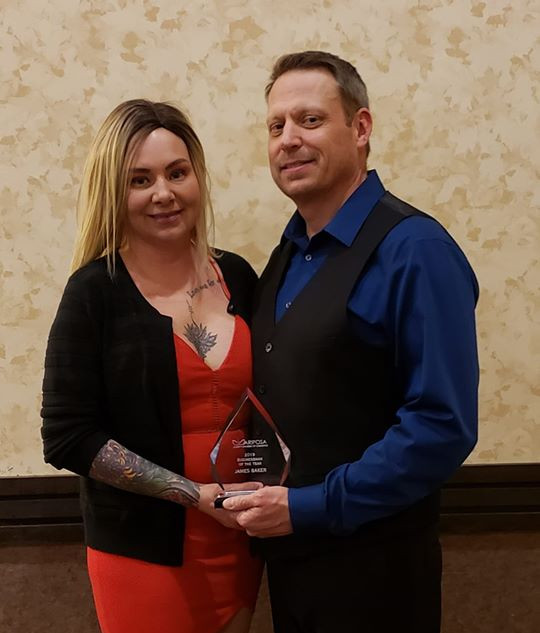 James Baker, Gold Coin Sports Bar & Grill: Business Man of the Year
