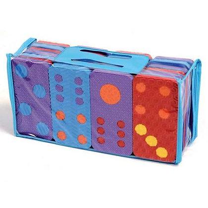 Jumbo foam dominoes