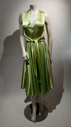 Lime green vintage pattern