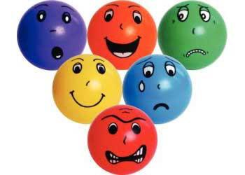 Emotion balls - set of 6 for PHSE