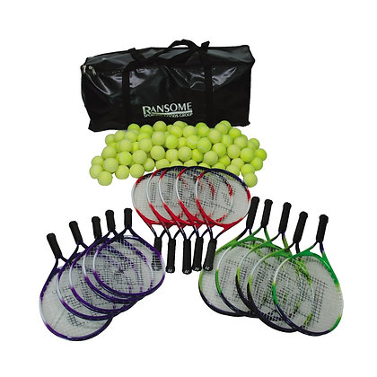 Primary Tennis Racket and Ball Bag