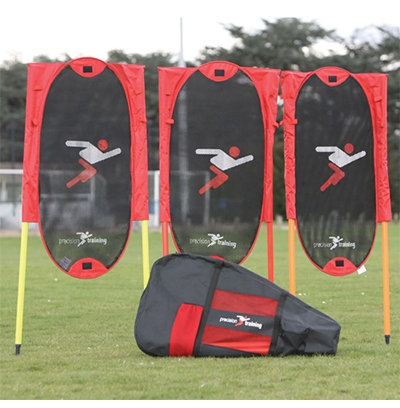 Folding Free Kick Man Kit with Poles