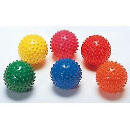 Easy grip bump balls - set of 6