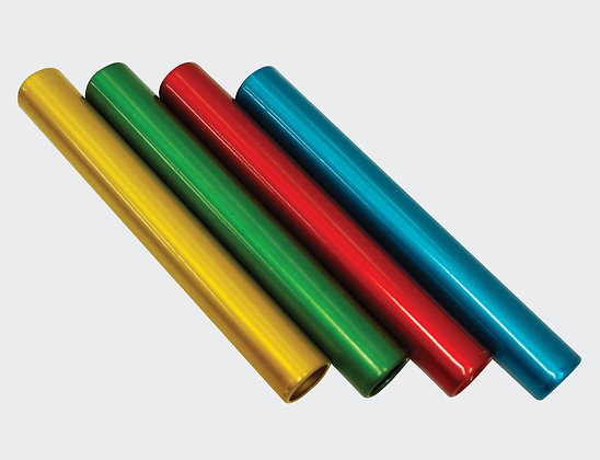 Set of 6 relay batons