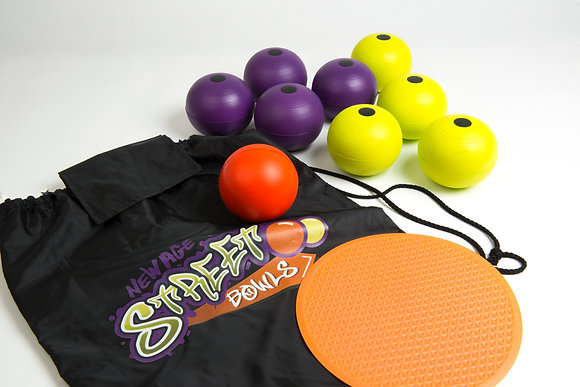 Street bowls set without the case