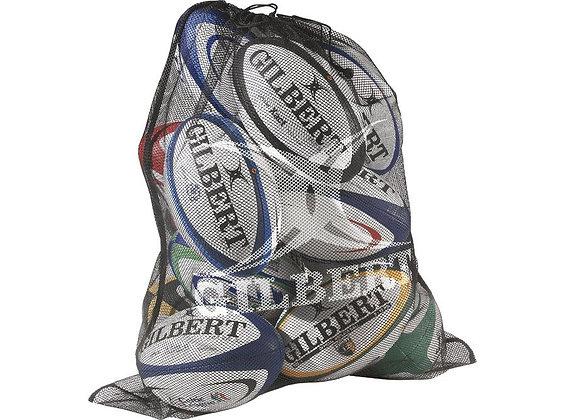 Gilbert rugby Balls plus bag