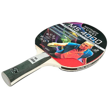 Sure Shot Matthew Syed 4000 1mm ITTF Reversed Rubber Table Tennis Bat